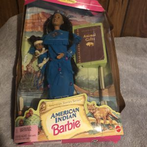 American Indian Barbie 1996 for Sale in Morganton, GA