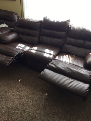 Free sofa coach recliner for Sale in Maplewood, MN