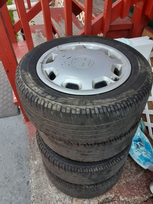 Jetta tires and rims 150 for Sale in Mitchell, IL