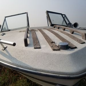 Junker Boat for sale it's a restoration project but the fiberglass body and chair framing is in tact. Will deliver. Call for appointments for Sale in Commerce City, CO