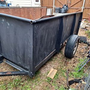 10 Foot Homeade Enclosed Trailer for Sale in Waxahachie, TX