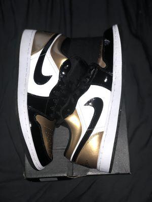 Jordan 1 Low (Gold Toe) for Sale in Houston, TX