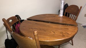 Wood Kitchen table for Sale in Endicott, NY