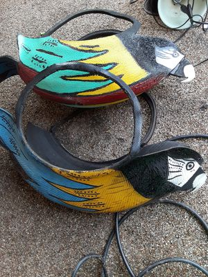 Hand crafted and painted macaw plant holder for Sale in Deltona, FL