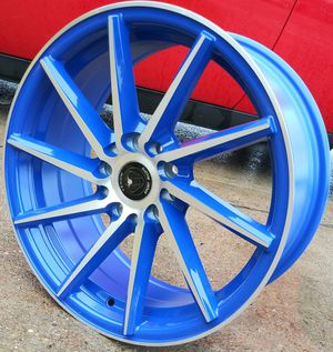 "17"" V SPORT ALLOYS RIMS BRAND NEW ___ 5 x 114.3 / 5 x 112 for Sale in Houston, TX"
