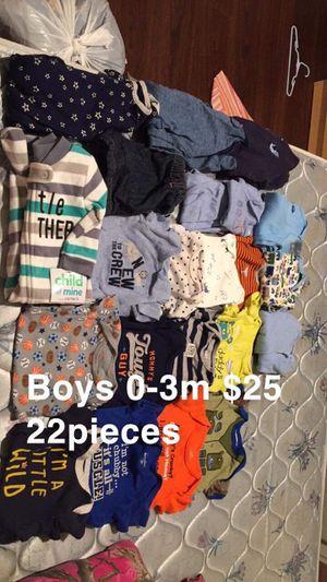 Boys 0/3m lot clothes now $20 for Sale in Leeds, AL