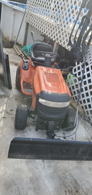 Ariens lawn tractor with snow plow for Sale in Philadelphia, PA
