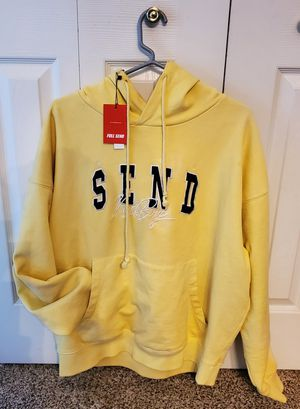 FULL SEND block heavy weight hoodie, June drop for Sale in Trout Valley, IL