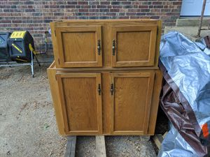Kitchen mudroom garage bathroom cabinets top and bottom for Sale in Vienna, VA