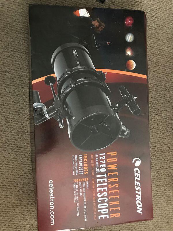 Celestron Power seeker 127 EQ telescope