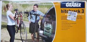 Graber 3-Bike Hitch Rack for Sale in Oregon City, OR