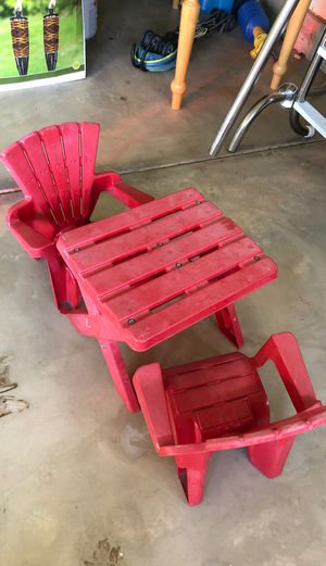 Kids table and chairs for Sale in North Aurora, IL