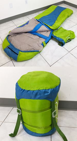 Brand New $15 Camping Sleeping Bag Waterproof Indoor & Outdoor Hiking Lightweight w/ Portable Bag for Sale in Downey, CA