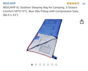 Brand new sleeping bag for outdoor camping for Sale in Bellevue, NE