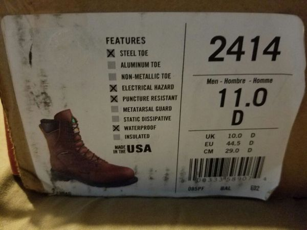 8508b9b0460 Red wing boots style 2414 size 11D for Sale in Santa Ana, CA - OfferUp