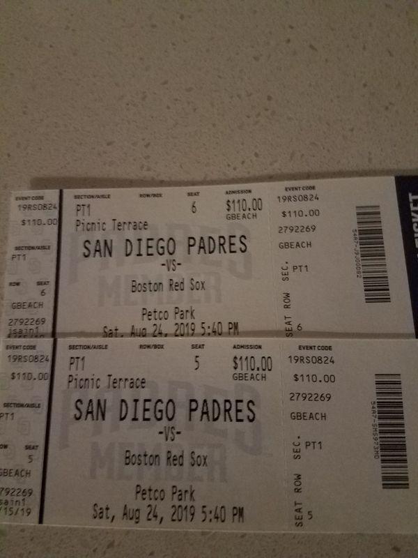 Padre Tickets