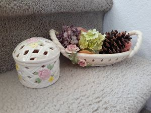 🌿🌸Potpourri Ceramic Decor 🌸🌿 for Sale in Las Vegas, NV