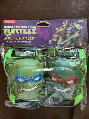 Ninja Turtles Knee & Elbow Pad Sets (2) for Sale in Riverside, CA