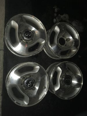 "16"" wheels rims - fits Infiniti QX4, Pathfinder, Chevy Van, Toyota 4Runner for Sale in Maumee, OH"