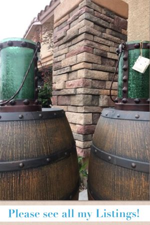 Giant Hurricane Glass Candle Holders Lantern Iron Handles can be placed on Floor, Table or Hung on a Wall wedding deco Hunter Green pool garden wine for Sale in Glendale, AZ