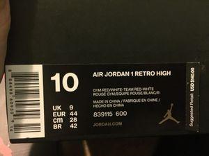 Jordan 1's high for Sale in Rockville, MD