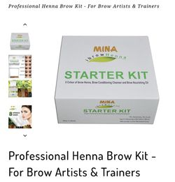 Professional Henna Brow Kit - For Brow Artists & Trainers for Sale in Queens,  NY