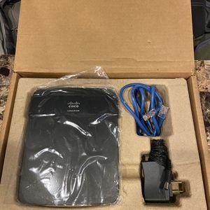 Cisco Linksys E1200 Wireless Wi-Fi Router for Sale in Carson, CA