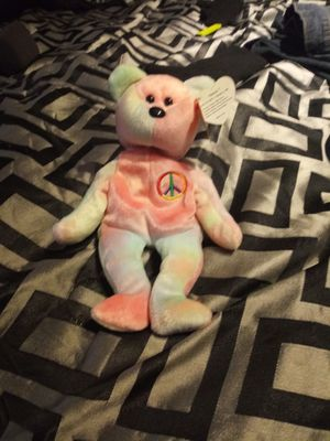 Original Peace Beanie Baby Made Feb 1st 1996 for Sale in Wittmann, AZ