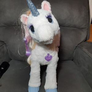 FurReal Friends StarLily My Magical Unicorn - Lights & Sounds by Hasboro for Sale in Atlanta, GA