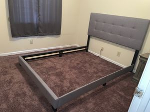 Queen Bed Frame and Night Stand for Sale in Simpsonville, SC