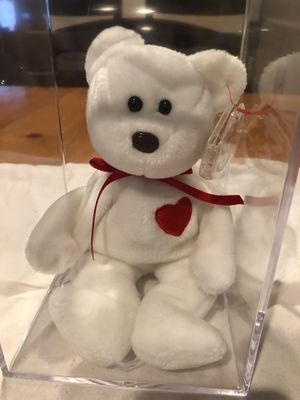 Rare Valentino Beanie Baby! Tag Errors, very valuable! for Sale in St. Petersburg, FL