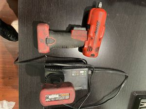"snap-on 14.4 V 3/8"" Drive MicroLithium Cordless Impact Wrench for Sale in Los Angeles, CA"