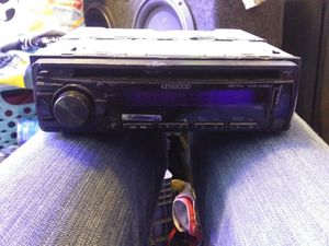 Kenwood car audio deck for Sale in Englewood, CO
