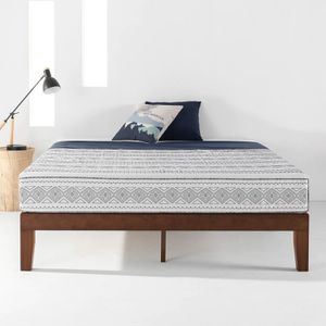 *Brand New* Mellow Naturalista Classic - 12 Inch Solid Wood Platform Bed, Full, Espresso (Mattresses Available!) for Sale in Dublin, OH