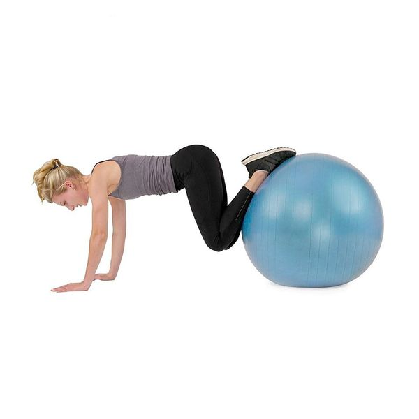 Anti burst gym yoga ball 75CM with air pump