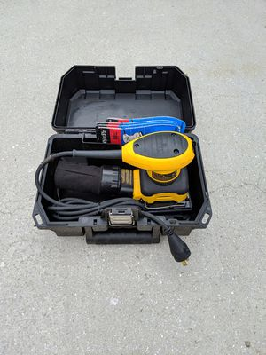 New DeWalt 2.4A Corded Orbital Sander for Sale in Lakewood Ranch, FL