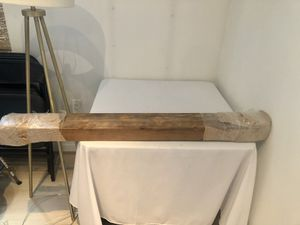 Reclaimed wood mantle for Sale in Washington, DC
