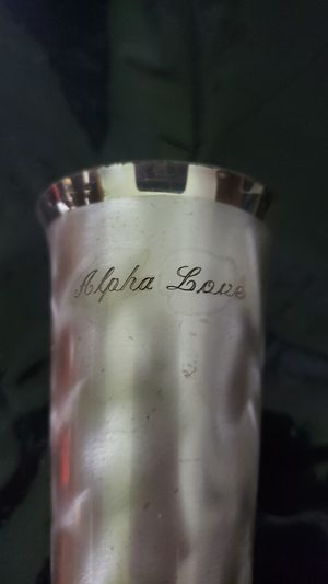 Silver Plated Flower Vase for Sale in Tampa, FL