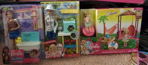 All new barbie doll toys for $25 original price in store $45 for Sale in Hayward, CA