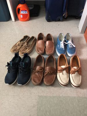 Shoes for sale (As package or separate) for Sale in Greenville, NC