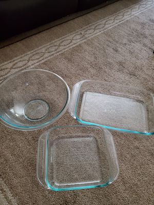 3 piece pyrex set for Sale in Beaverton, OR