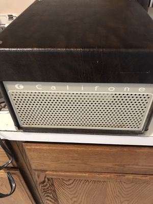 CALIFONE 1410K Table Top Turntable 1960s working great for Sale in Columbus, OH