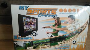 My Sports Challenge wireless sports game system for Sale in Butte, MT