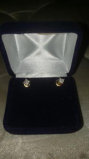 Vvs Diamond cut earrings for Sale in Washington, DC