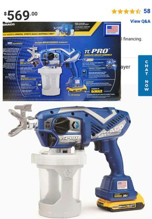 TC PRO CORDLESS AIRLESS PAINT SPRAYER for Sale in Austell, GA