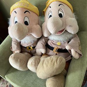 Disney Large Snow White Sneezy Dolls for Sale in Suffolk, VA