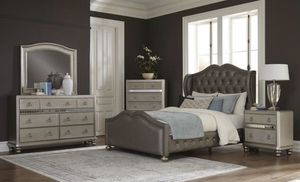 Beautiful Modern Queen Bedroom Set Only $54 Down for Sale in Arlington, TX