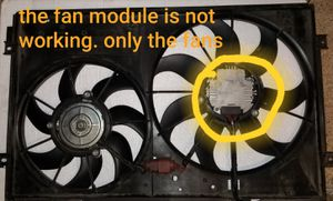 Volkswagen Passat engine cooling fans for Sale in Fountain, CO