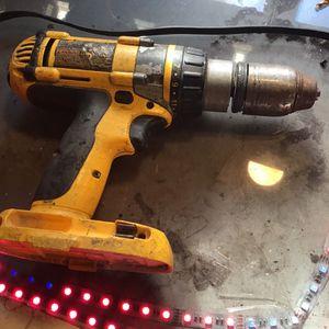 18 Volt Dewalt Drill 1/2 Chuck Hammer Drill for Sale in Riverside, CA
