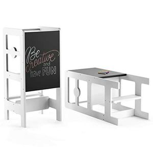Kitchen Step Stool & Chalkboard Desk for Toddlers for Sale in San Diego, CA